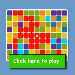 I Brain Color Game - Free Online Kids Games from theKidzpage.com