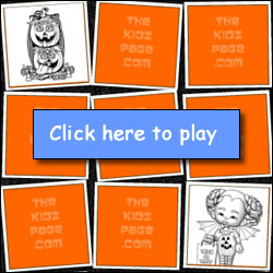 Halloween free kids games two player memory game online