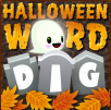 Word Dig Free Halloween Game for Kids