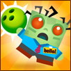 Zombie Bowling Free Halloween Game for Kids