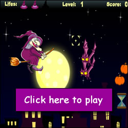 play halloween witch games