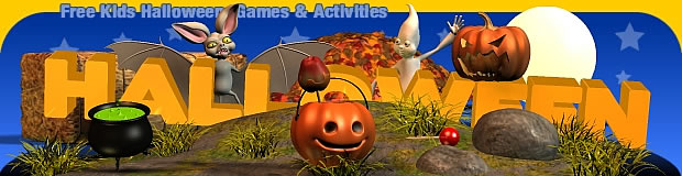 free kids halloween games and activities - Free Halloween Activities For Kids