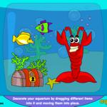 Decorate the Aquarium Online Toy for Kids