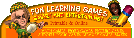 Free Learning Games for Kids Online