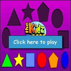 internet games for kids shapes