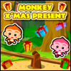 Monkey Christmas Present - Free Online Game for Kids