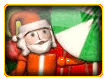 Santa Decoration Free Online Jigsaw Puzzle for Kids