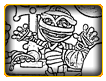 Cartoon Mummies Coloring Page