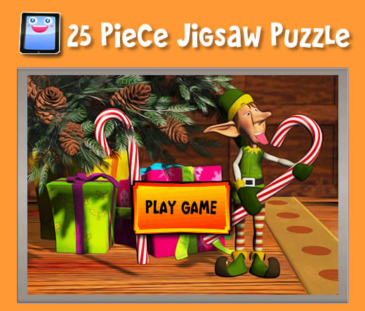 Santa Claus, Elves and Gifts - Jigsaw Puzzles for iPad and ...