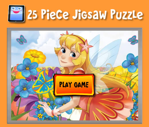 Flower Fairy - Jigsaw Puzzles for iPad and other Tablets