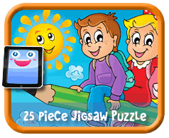 Flying Pencil Online Jigsaw Puzzle For Kids