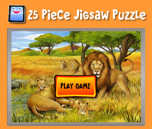 Lion Pride Jigsaw Puzzles For Ipad And Other Tablets