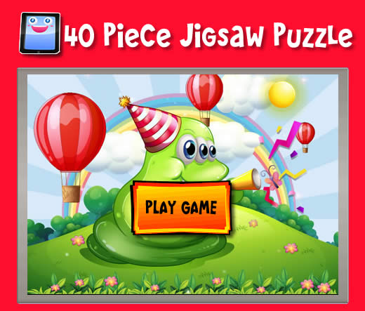 ... Blob Celebrating - 40 Piece Jigsaw Puzzles for iPad and other Tablets