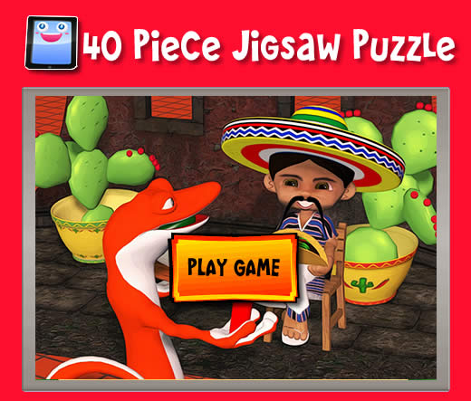 Wanna Burrito 40 Piece Jigsaw Puzzles For Ipad And