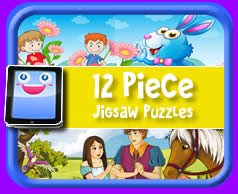 Play With Most Devices 12 Piece Online Jigsaw Puzzle For Kids
