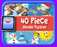 40 Piece Online jigsaw puzzle for kids