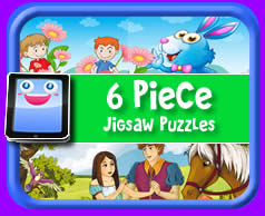 6 Piece Online Jigsaw Puzzle For Kids Play With Most Devices
