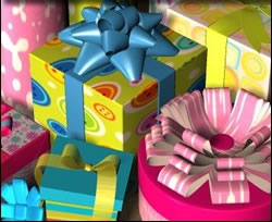 Colorful Gifts Free online jigsaw puzzle game for kids