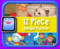 12 Piece Online jigsaw puzzle for kids